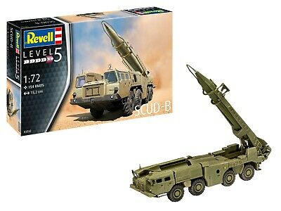 SCUD-B Modellbau # 1:72 # 154 Teile # Revell 03332