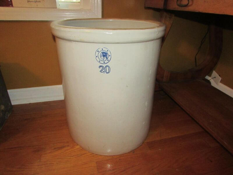 Vintage Louisville 20 Gallon Crock #1153K
