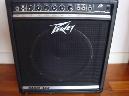 PEAVEY USA Basic 112 Bass Amplifier 50 Watts