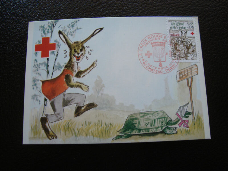 France - Card First Day / 2 12/1978 (Red cross) (cy61) French