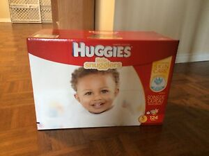 Unopened Size 5 Huggies Diapers