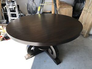 Rustic Round Wood Table - BRAND NEW