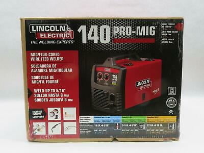 Lincoln Electric 140 Pro Mig Flux Corded Wire Feed Welder K2480-1