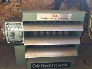 Ruffneck explosion proof heater