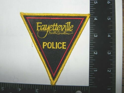 FAYETTEVILLE, NORTH CAROLINA  POLICE