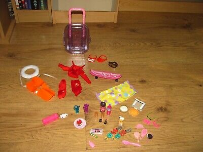 Barbie bundle dolls only accessories food and other