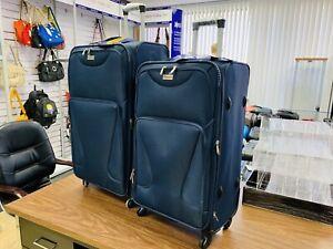 Soft side suitcase for sale 2 pcs set brand new