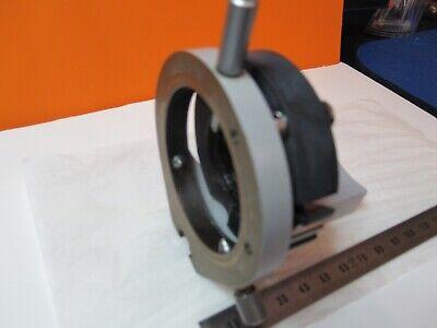 Zeiss Brass Condenser Holder Polarizer Optics Microscope As Pictured 55r-b-21