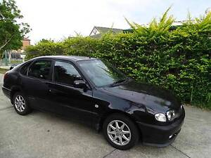 2000 Toyota Corolla Hatchback,Levin,rwc,rego,good condition Tingalpa Brisbane South East Preview