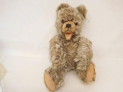 MES-60392Älterer Teddy Zotty L:ca.39cm,weichgestopft mit Gebrauchsspuren,