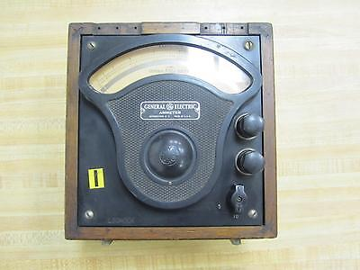 General Electric 3675322 Antique Amp Meter Vintage Industrial 39010