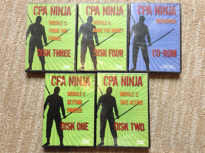 Ninja Cpa 4 Series Dvds And A Resources Dvd Make Money Online Home Business