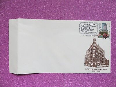 Lewis's Dept Store Birmingham 17p Stamp to Celebrate 100 Years in Birmingham1985