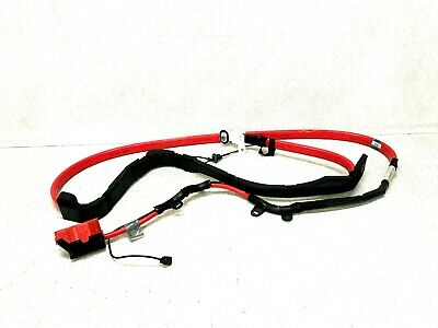 2004-2010 BMW 6 SERIES 650I POSITIVE BATTERY BELOW FLOOR CABLE OEM 61129176955