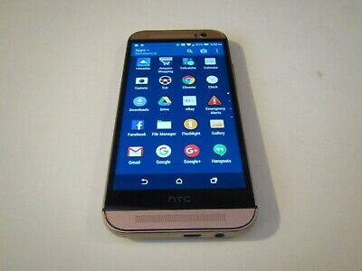 HTC ONE MODEL # 831C- 32GB - GOLD (SPRINT) SMARTPHONE CLEAR IMEI