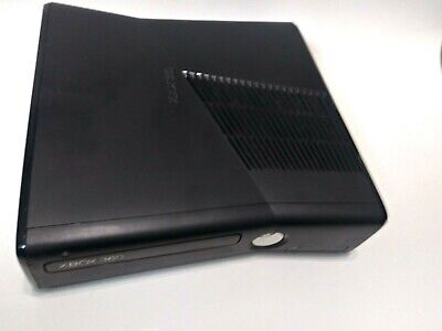 Microsoft Xbox 360 S Slim HD Black Console Only - Tested