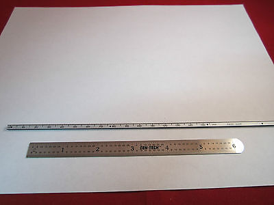 Optical Ruler Swiss Made Stage For Microscope Or Optics Positioning Bin5m