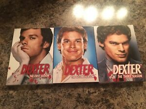 Dexter seasons 1-3 for sale!