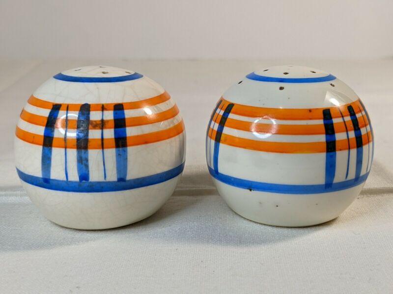 Vintage MCM Salt And Pepper Shakers Made In Japan
