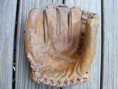 Vintage Mickey Mantle MM5 Model Rawlings Baseball Glove NY Yankees