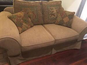 Lounge 2 seater sofa bed plus single chair Newcastle East Newcastle Area Preview