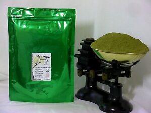Organic Moringa Oleifera Raw Leaf Powder 600gms - CERTIFIED NON GMO - UK Seller