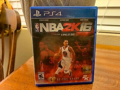 NBA 2K16 PS4 (2015) Rated E Feat. A Spike Lee Joint Rare comprar usado  Enviando para Brazil