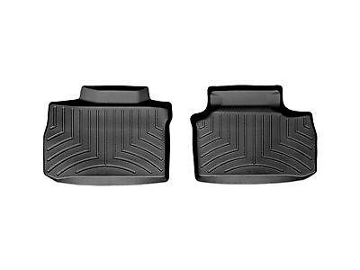 (WeatherTech FloorLiner Floor Mat fits Charger/300/Magnum - 2nd Row Set - Black)
