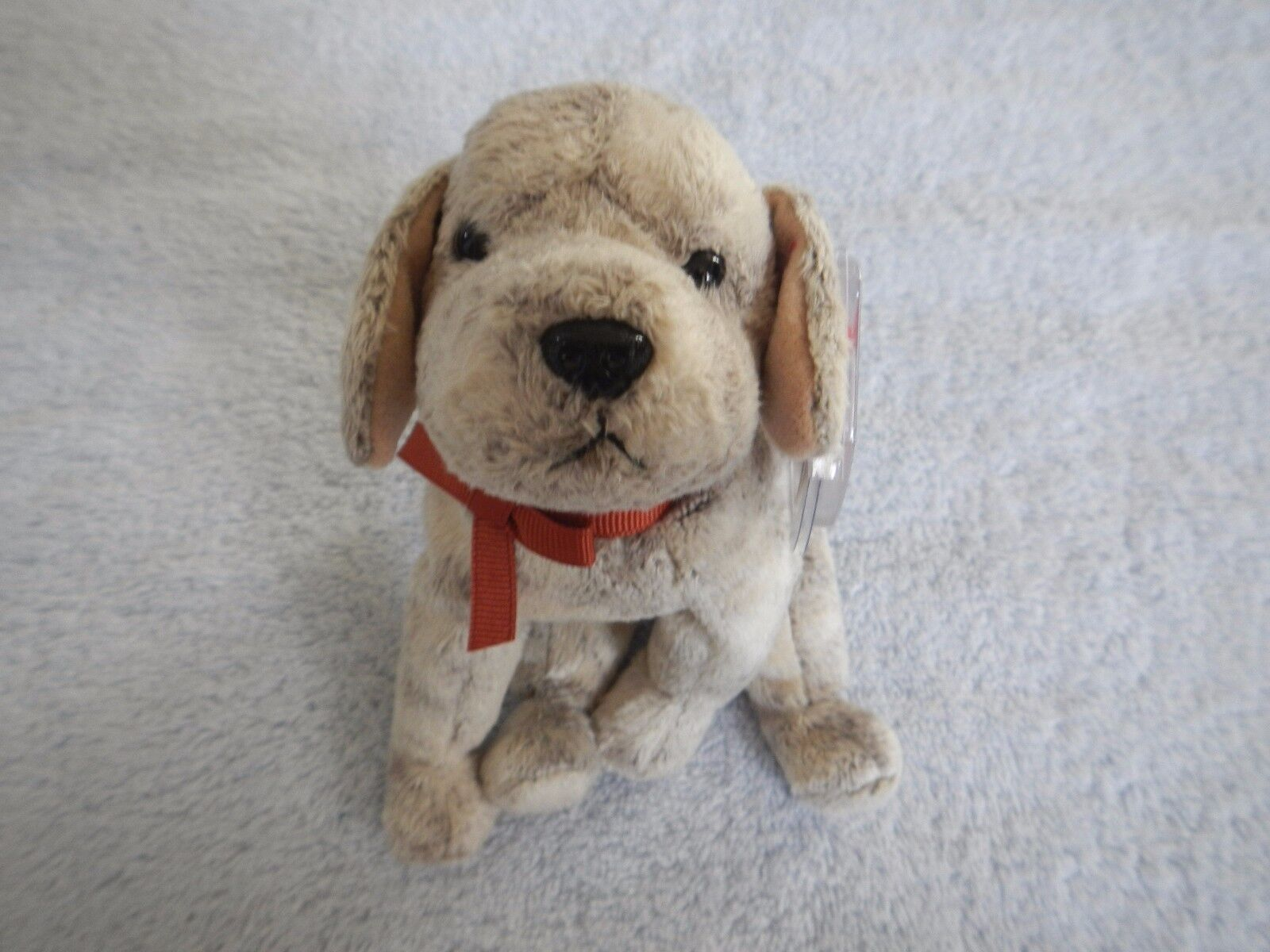 TRICKS - CUTE DOG LOOKING FOR A NEW HOME  -  TY BEANIE BABY