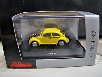 """Schuco 452640300 VW Käfer /""""Deutsche Bundespost/"""" gelb schwarz"""