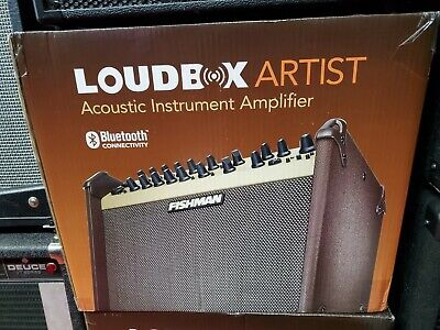 Fishman Loudbox Artist *NEW* Acoustic Amplifier - 120w 2 channel - Bluetooth