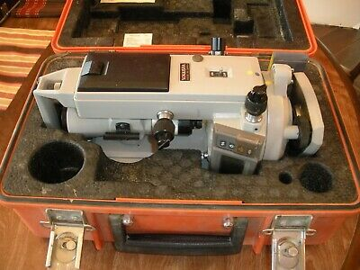 Sokkisha Lietz Dt 6 Transittheodolite With Case