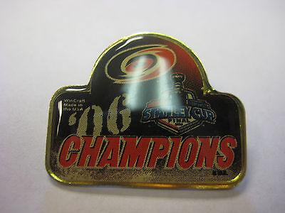 Hurricanes Logo Pin - NHL '06 Stanley Cup Champions Carolina Hurricanes Logo Pin