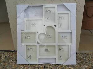 White Multi Picture Wall Frame Smithfield Cairns City Preview