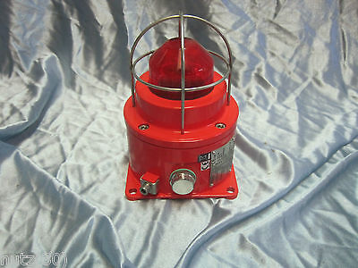 MEDC DB3 + SM87HXB Explosion Proof Combined Horn Sounder and Beacon