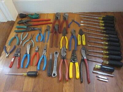 Klein Greenlee Journeyman Electrician Tool Kit Set 41pc Crescent Channellock