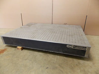 Newport Laser Optical Breadboard Table 36 X 24 X 4.5 Taped Holes 14 - 20