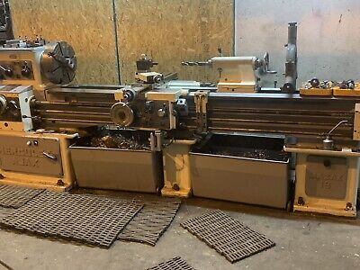 Mazak Gap Bed Lathe 18x80 Tooled Great Condition Engine Lathe Manual Lathe