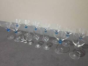 $5 for 16 Alcohol glasses wine champagne margarita shot USED Sydney City Inner Sydney Preview