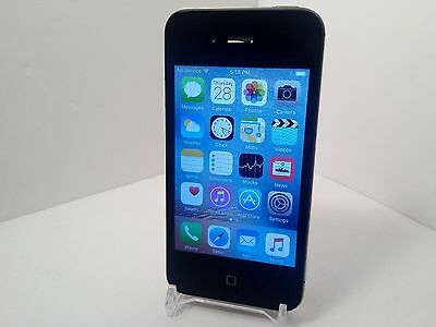 Apple iPhone 4s - 8GB - Black (Verizon) A1387 (CDMA + GSM) (C15)