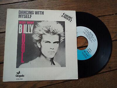 BILLY IDOL dancing with myself EP 4 Tracks SPAIN RARE COVER ex Generation X  segunda mano  Embacar hacia Mexico
