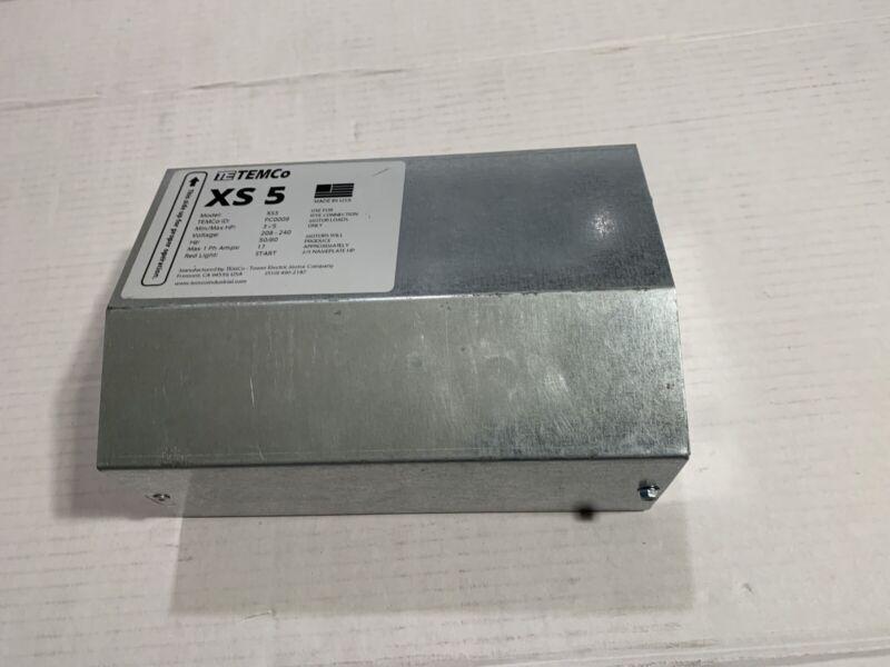 TEMCO XS5, PC0009, 3-5Hp Static Phase Converter 208-240VAC Single to Three Phase