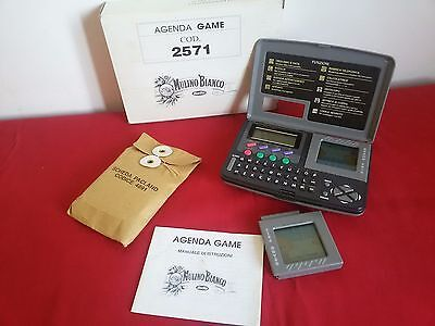 Usato,  MULINO BIANCO - AGENDA GAME Nuova BOX + Manuale + 2 giochi GP e PACLAND VINTAGE usato  Campobasso