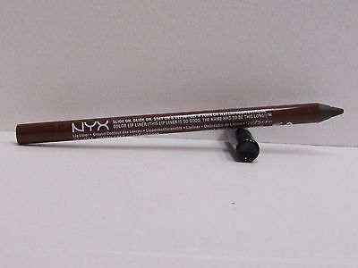 NYX Slide On Lip Pencil Waterproof color SLLP11 Urban Cafe New & Sealed