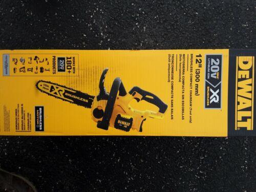 DEWALT DCCS620 12 in. 20 Volt MAX XR Cordless Brushless Chai