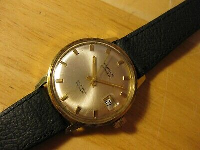 25 JEWEL AS MOVEMENT 1970'S AUTOMATIC VINTAGE MENS WATCH