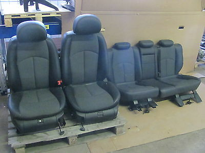 Part leather interior Leather Seats Seats - Mercedes Benz W211 Estate - MOPF