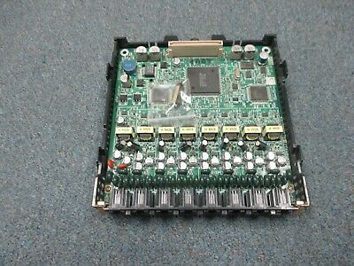 Panasonic Kx-tda50 Hybrid Ip Pbx - Kx-tda5176 Plc8 8 Port Proprietary Line Card
