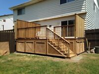 Deck Builder -Fall Discounts! Free quote!