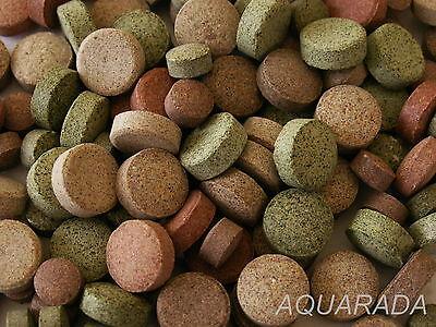 ca.750St/300g Futtertabletten Welstabletten  15 Sorten MIX Zierfischfutter